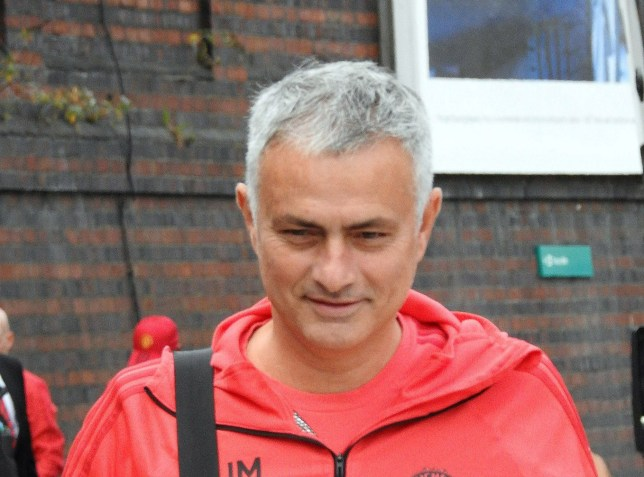 Pic by Tony Spencer Tel:07875497050 19.10.2018 MAN UTD AT STOCKPORT STATION TODAY (FRI) JOSE MOURINHO