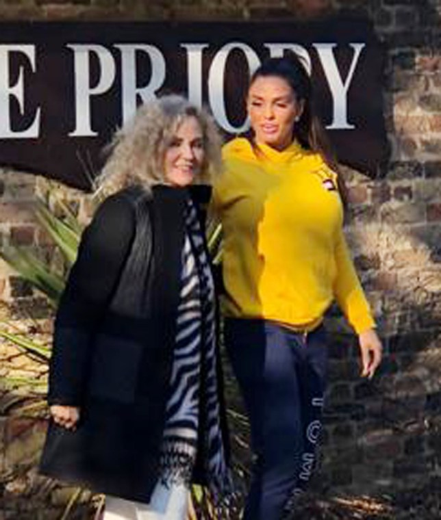 Katie Price Angers The Priory Bosses After Bringing Film