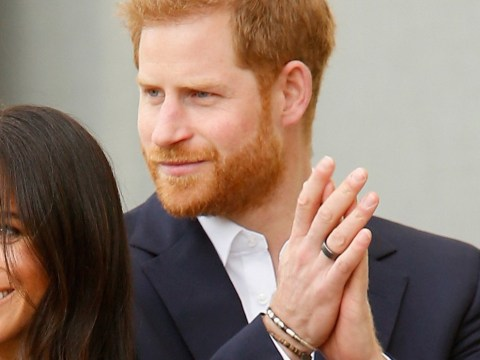 Prince Harry's ring explained – what is the new black band he's been wearing on Australian tour?