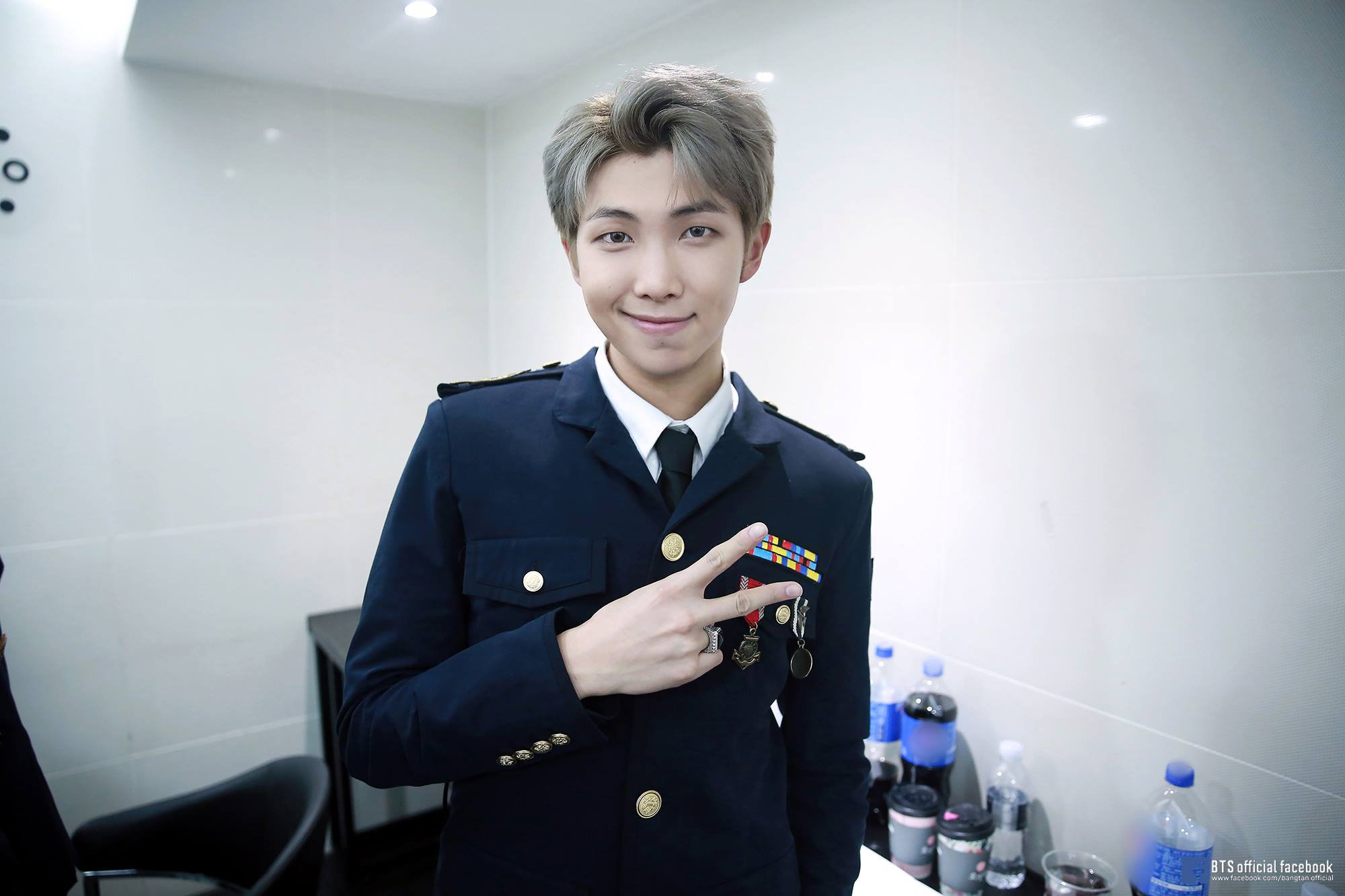 BTS's RM announces solo mixtape after being voted best leader in K-Pop Picture: RM METRO GRAB taken from: https://www.facebook.com/pg/bangtan.official/photos/?ref=page_internal Credit: BTS/Facebook