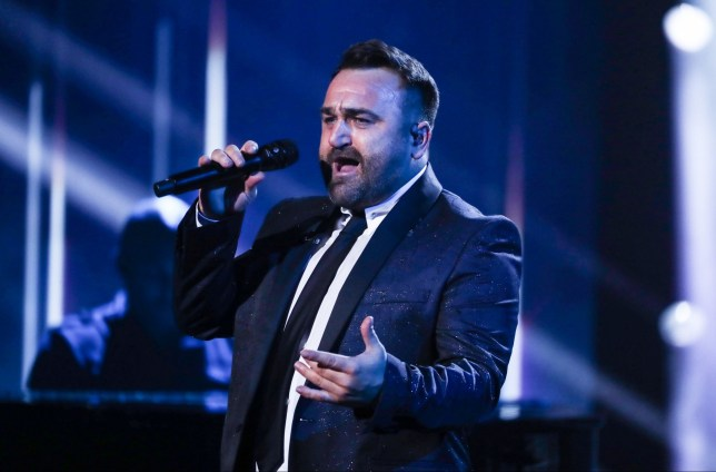 STRICT EMBARGO - STRICTLY NO USE BEFORE 20:25 GMT SATURDAY 20 OCT 2018 - EDITORIAL USE ONLY - NO MERCHANDISING. Mandatory Credit: Photo by Dymond/Thames/Syco/REX (9937147u) Danny Tetley - dress rehearsal 'The X Factor' TV show, Series 15, Episode 15, London, UK - 20 Oct 2018
