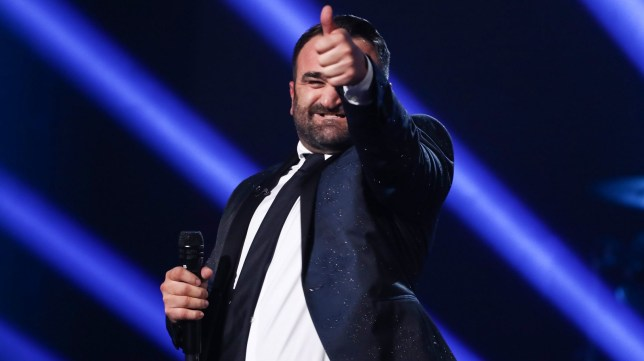 Mandatory Credit: Photo by Dymond/Thames/Syco/REX (9937148w) Danny Tetley 'The X Factor' TV show, Series 15, Episode 15, London, UK - 20 Oct 2018