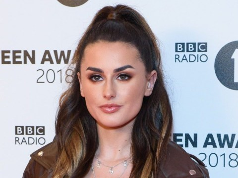 Amber Davies shares emotional advice to fans after being rushed to hospital