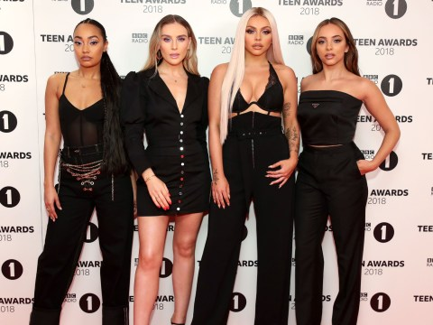 Little Mix win Best British Group at BBC 1 Teen Awards and give first performance of Woman Like Me