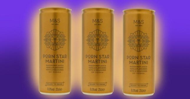 M&S pornstar martini