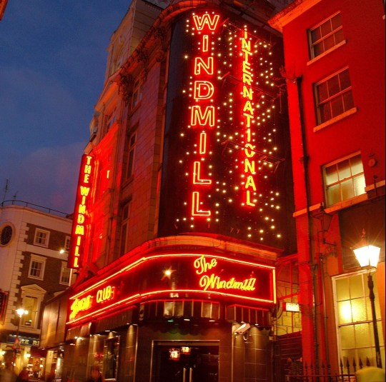 Mandatory Credit: Photo by Dan Sparham/REX/Shutterstock (663807g) The Windmill International Theatre, Soho, London, England, Britain Various