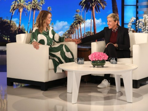 Ellen Pompeo tears up as she revealed why she won't be quitting Grey's Anatomy after speaking to gay teenager