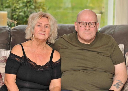 A Dumbarton grandad was left fighting for hislife after developing deadly sepsis from biting his nails. Ricky Kennedy says he is lucky to be alive after contracting the infection from nibbling his thumbnail down. The 57-year-old was given a 50 percent chance of surviving the terrifying ordeal and spent months in hospitals battling the disease. Sepsis kills around 44,000 people in the UK every year and occurs when the body reacts to an infection by attacking its own organs and tissues. Ricky ? who lives in Westcliff with wife Ghislaine, 65, ? has been left with life-changing conditions as a result, including an eroded collarbone, septic arthritis and asthma. Pictured Ricky with wife Ghislaine Picture by Colin Garvie, Lennox Herald contracted freelance, 19/10/18