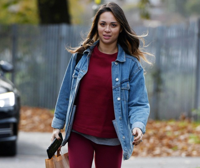 Katya Jones Heads To Strictly Rehearsals Pictured: Ref: SPL5035553 231018 NON-EXCLUSIVE Picture by: SplashNews.com Splash News and Pictures Los Angeles: 310-821-2666 New York: 212-619-2666 London: 0207 644 7656 Milan: +39 02 4399 8577 Sydney: +61 02 9240 7700 photodesk@splashnews.com World Rights,