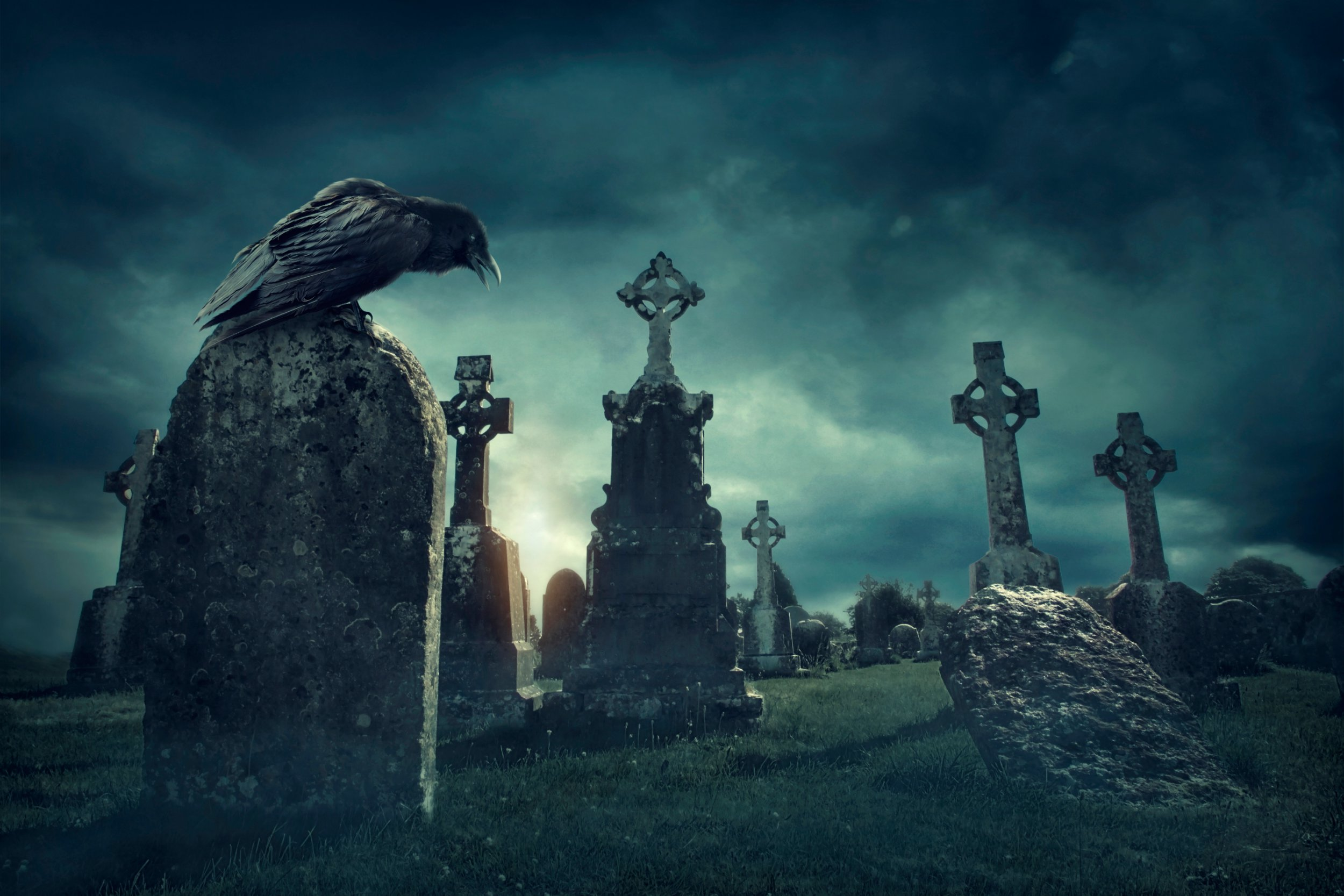 You can be paid £200 to spend Halloween night in a graveyard