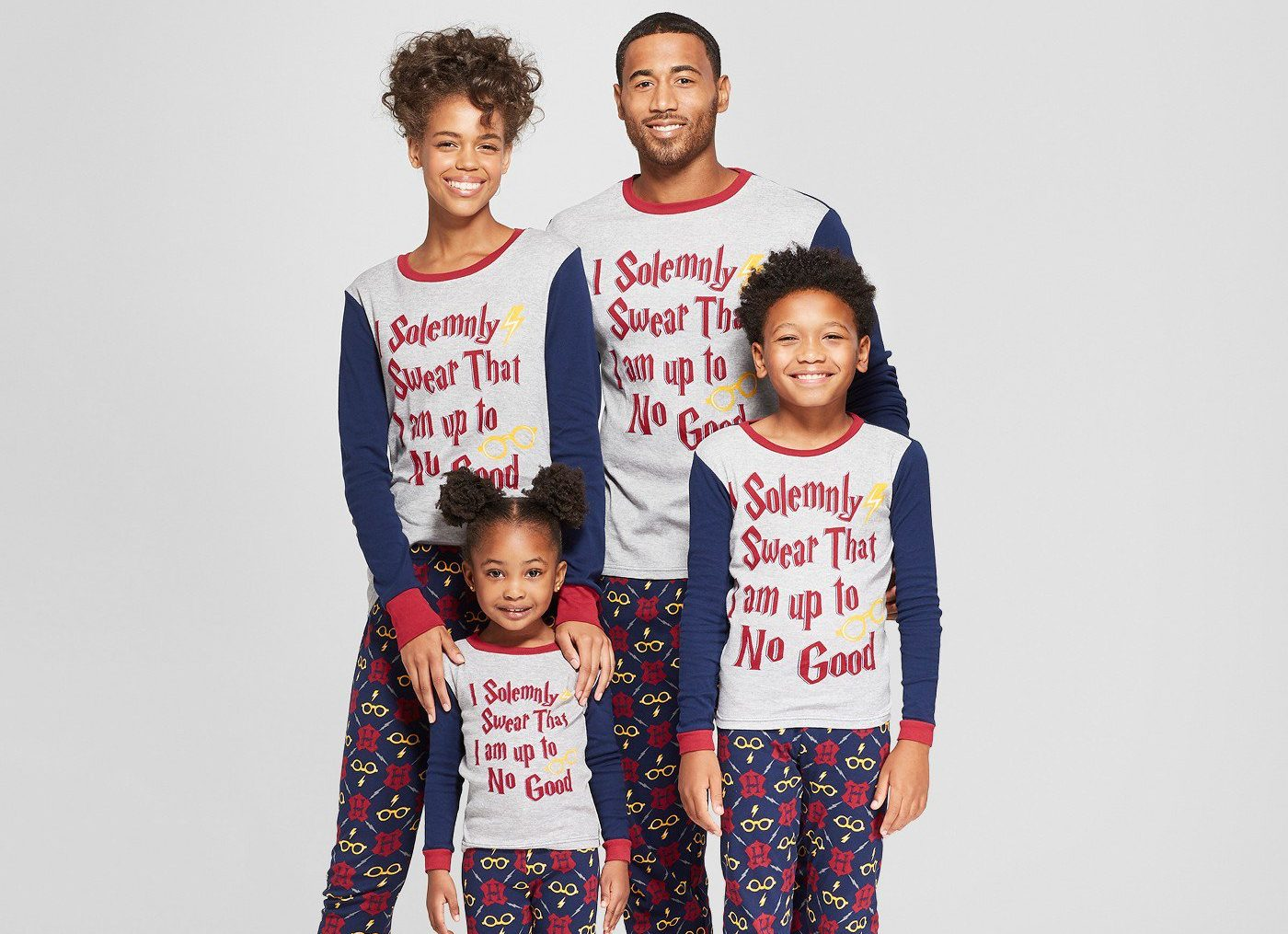 Now you can buy matching Harry Potter pyjamas for the whole family