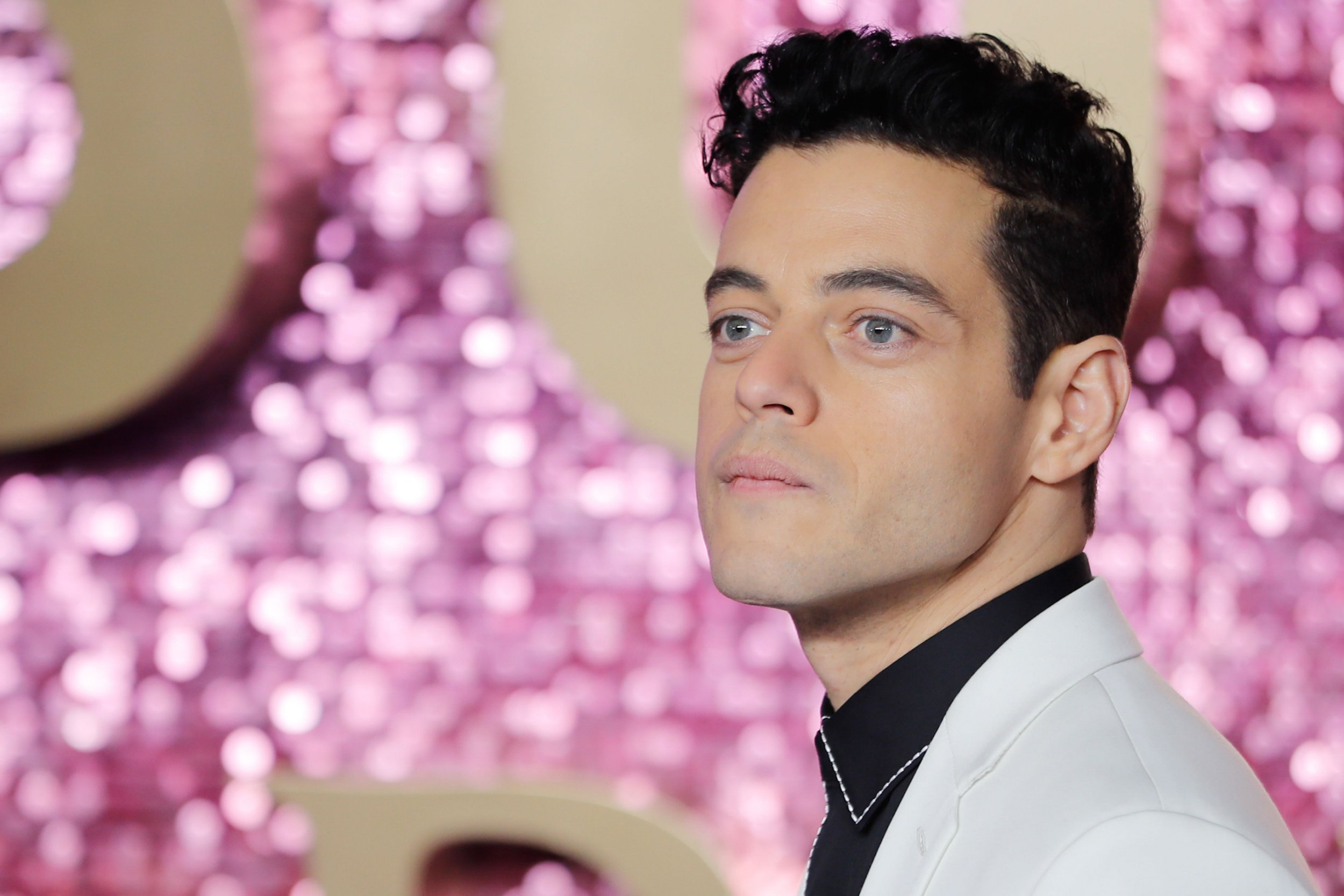 US actor Rami Malek poses on the red carpet arriving for the world premiere of the film 'Bohemian Rhapsody' at Wembley Arena in north London on October 23, 2018. (Photo by Tolga AKMEN / AFP)TOLGA AKMEN/AFP/Getty Images