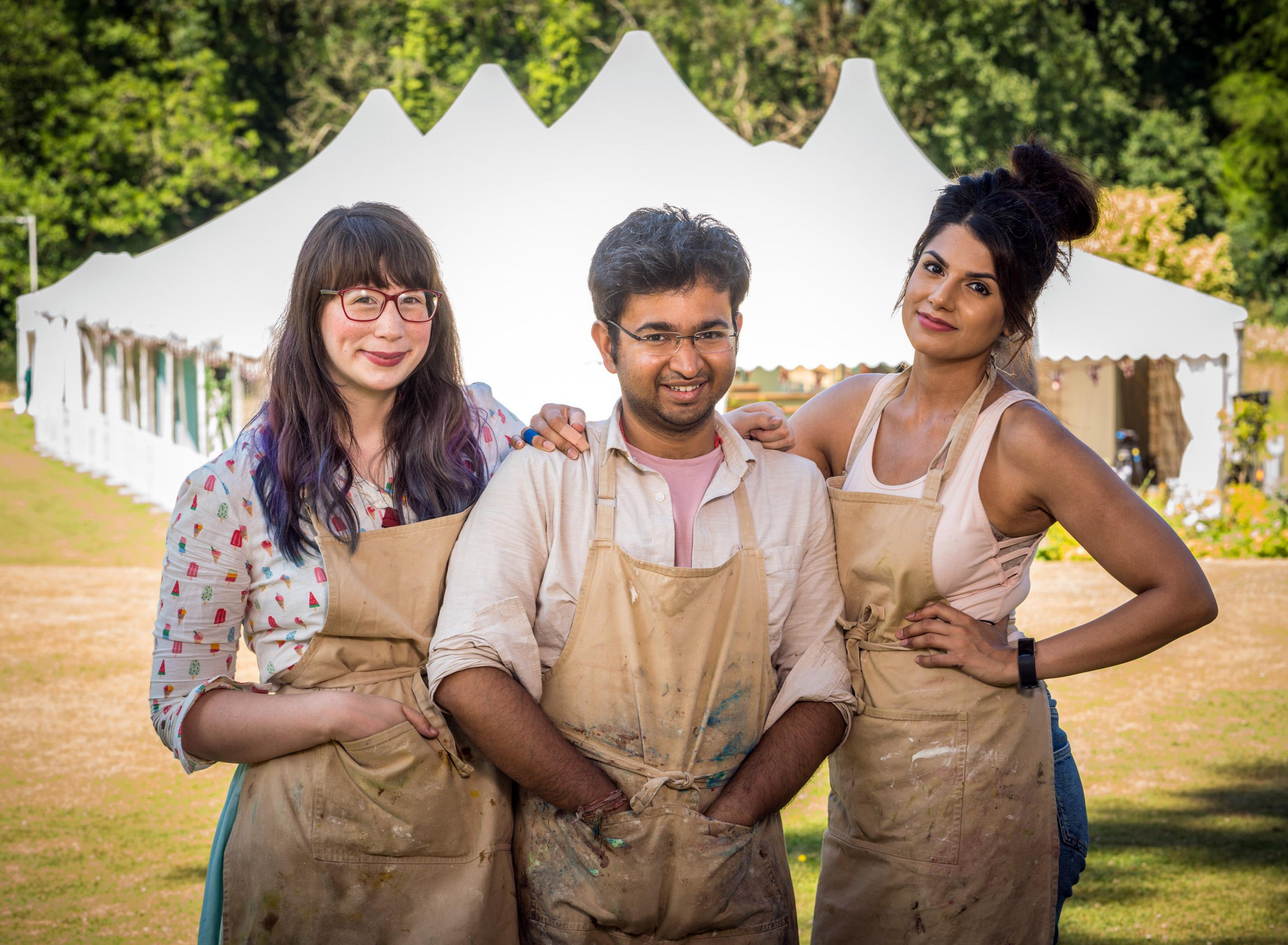 Great British Bake Off stars keep results secret from family and are told to go 'private' on Twitter