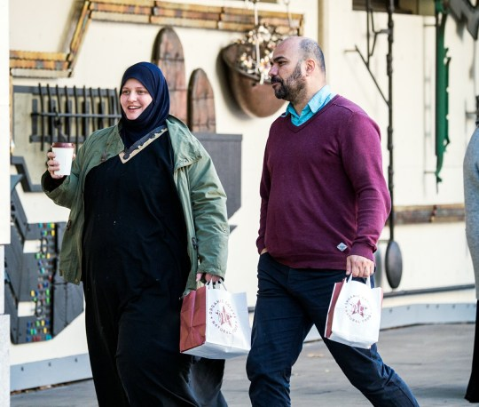 22/10/2018 Westminster Magistrates Court (London). Pic shows Beatrix Bernhardt (left) and Nacerdine Talbi (right) arriving at court. A learning centre for home-educated children has been successfully prosecuted for operating as an illegal, unregistered school in a landmark case. Al-Istiqamah Learning Centre in Ealing, west London, was not registered as a school but taught about 60 children for five mornings a week and sets homework each night. Ofsted inspectors twice visited the centre based inside a three-storey office block on Uxbridge Road on 12 October and 14 November last year. SEE STORY CENTRAL NEWS. 020 72360116. Picture: Brais G. Rouco/ Central News