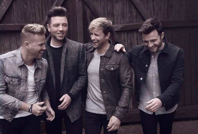 Westlife Handout pic from PR