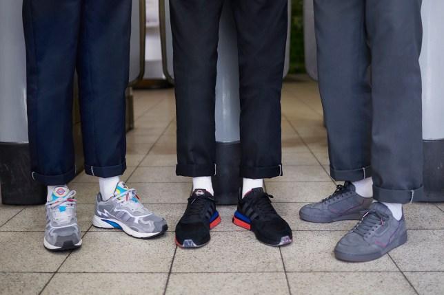 odebrane uznane marki na sprzedaż online Adidas x TFL trainers are coming out and they're ...
