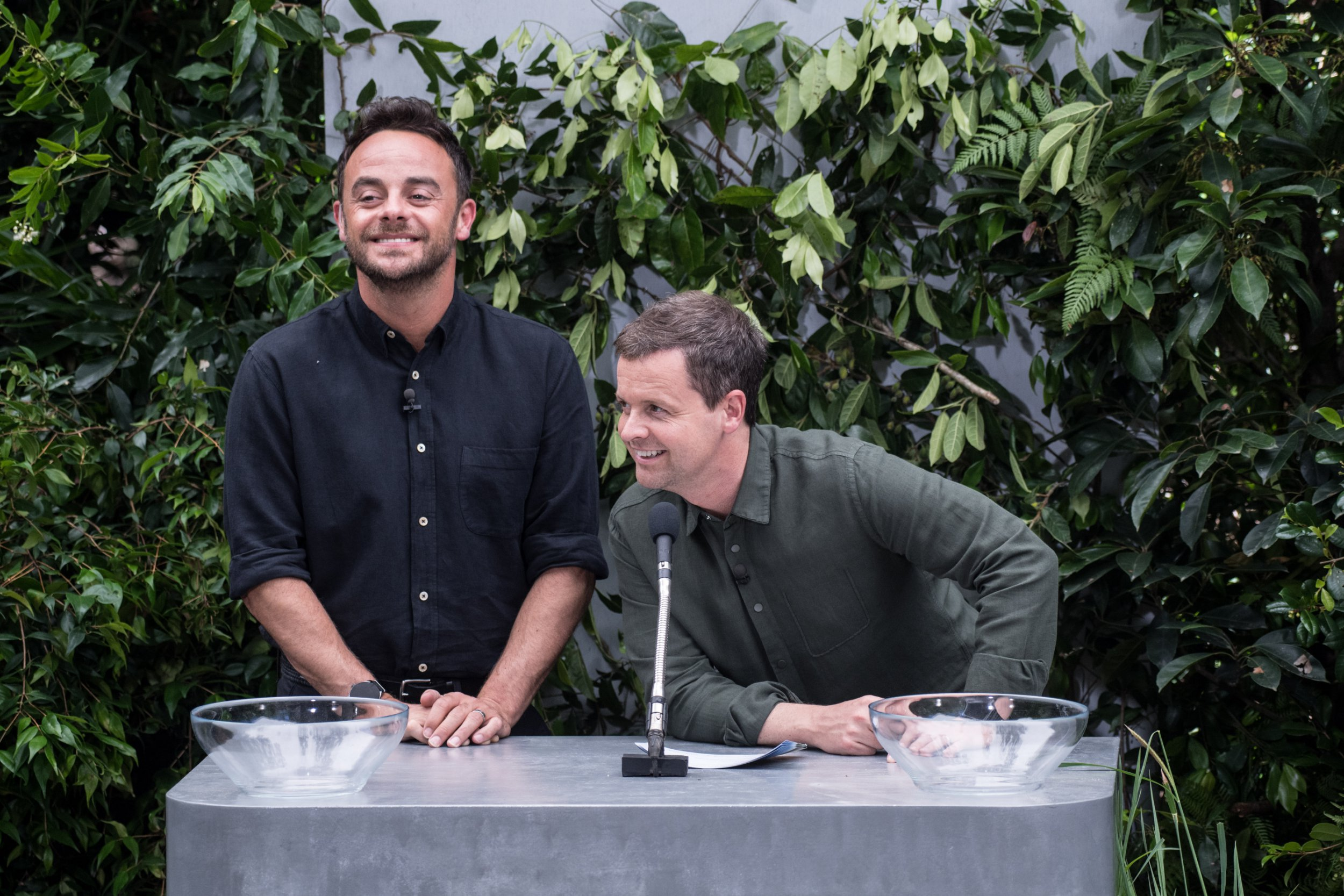 Editorial use only Mandatory Credit: Photo by James Gourley/ITV/REX/Shutterstock (9263836d) Bushtucker Trial: Deadly Departure Lounge - Anthony McPartlin and Declan Donnelly 'I'm a Celebrity... Get Me Out of Here!' TV Show, Series 17, Australia - 07 Dec 2017