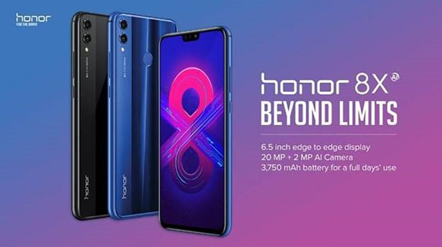 Image result for Honor 8X  - HD Images