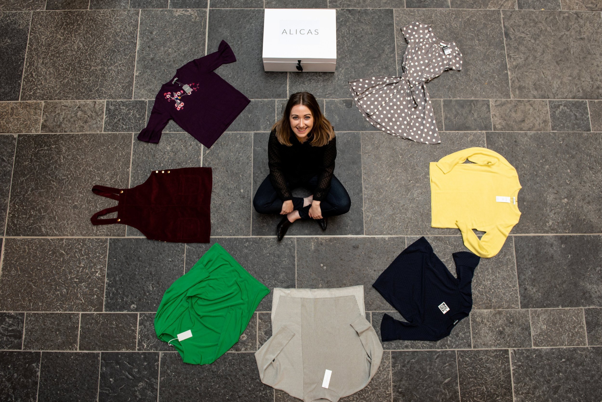 """Rachael Bews a domestic abuse survivor from Ross-shire, Highland, is helping women in need by providing clothing parcels. See SWNS story SWSCclothes; Entrepreneur Rachael Bews is seeking to tackle clothing crisis by helping women escaping abusive and violent relationships to maintain their """"dignity, identity and confidence"""". The 26-year-old from Ross-shire in the Scottish Highlands was inspired to set up her charity Alicas after working with a woman who fled an abusive partner, and following her own experience of a violent relationship last year. Rachael, a business, management and marketing graduate, said: ?When I was 18 I worked with a wonderful woman called Ali who fled to Inverness with her three kids from an abusive partner, with only the clothes on their backs. majestic animal."""