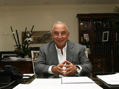 Who gave Sir Philip Green his knighthood?