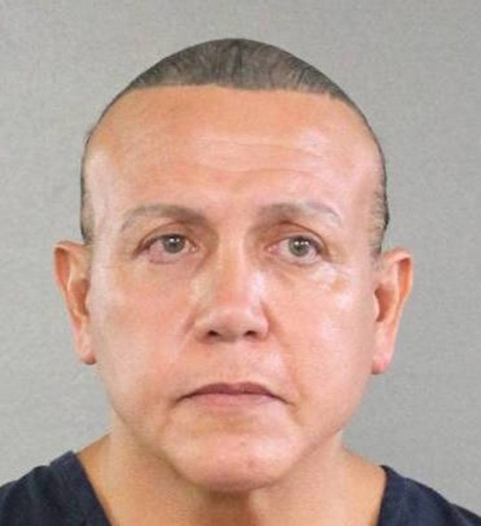 MAGA bomb suspect Cesar Sayoc from Fort Lauderdale, Fl (Picture: Handout)