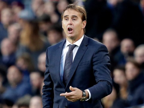 Julen Lopetegui says farewell to Real Madrid players after Barcelona defeat as Antonio Conte prepares to arrive