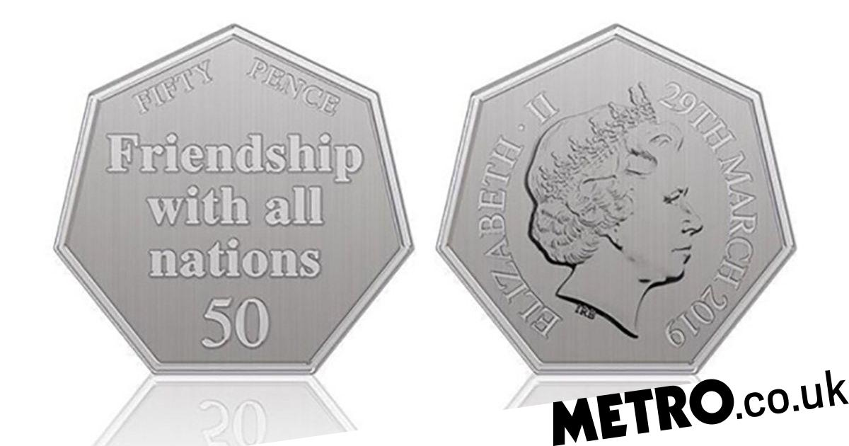 new 50p coin brexit