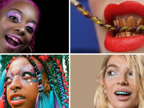 Rainbow teeth is a strong contender for strangest Instagram trend in 2018