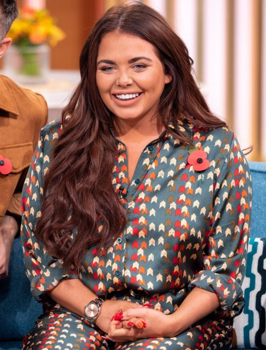 Editorial use only Mandatory Credit: Photo by Ken McKay/ITV/REX (9948600ao) Scarlett Moffatt 'This Morning' TV show, London, UK - 30 Oct 2018 I?M A CELEB: JOEL DOMMETT, JOE SWASH & SCARLETT MOFFATT Before they head back Down Under for the return of ?I?m A Celebrity: Extra Camp?, stars of the show Joel Dommett, Joe Swash and Scarlett Moffatt are stopping off at our studio to tell us everything we can expect from the new series. Plus, with Holly joining them for the first time - what do they have in store for her?