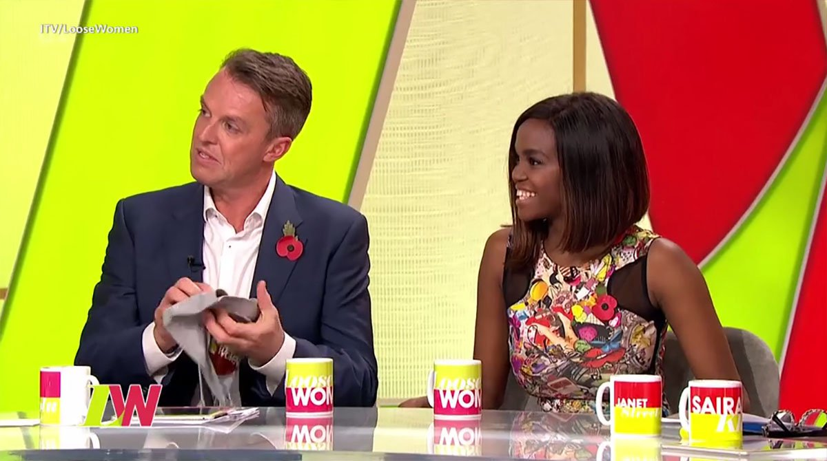Graeme Swann addresses whether Seann Walsh kissing scandal ruined his chances Credit: ITV
