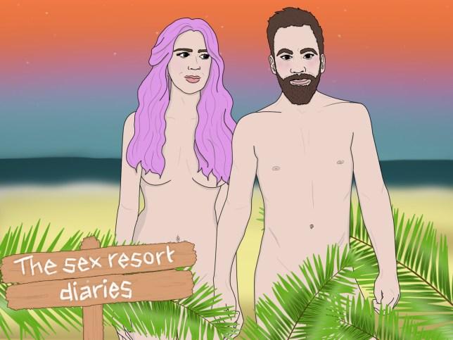 The sex resort diaries
