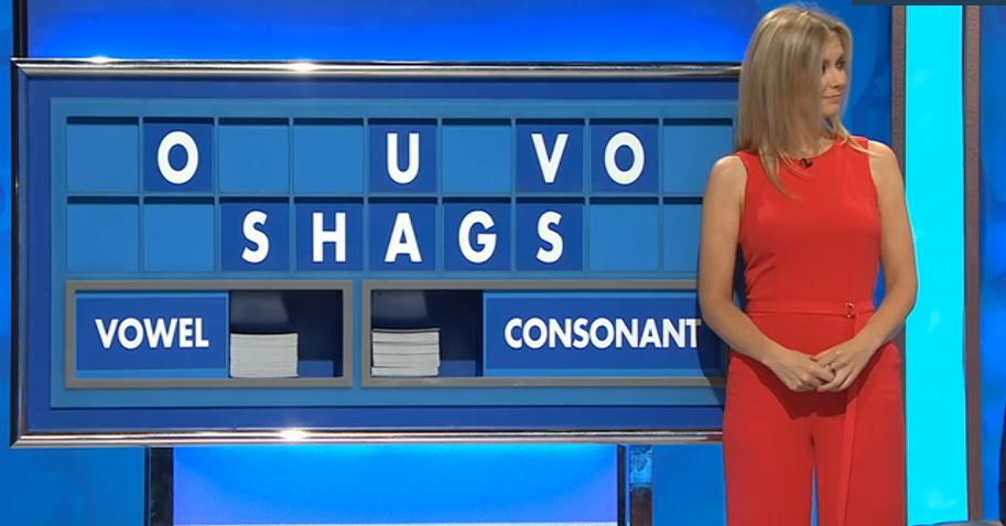 Countdown contestant pushes his luck by getting Rachel Riley to spell 'shags'