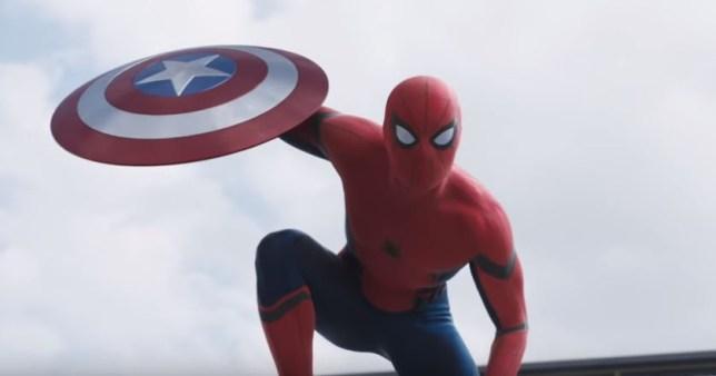 Spider-Man in Civil War trailer