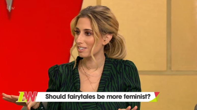 Stacey Solomon picks apart Keira Knightley's criticism of 'sexist' Disney: 'There's so much weird stuff in that film'