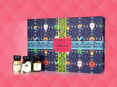 There's a tequila advent calendar here to set-up a boozy Christmas