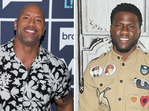 Kevin Hart gives savage response to Dwayne Johnson after he mocks comedian's size