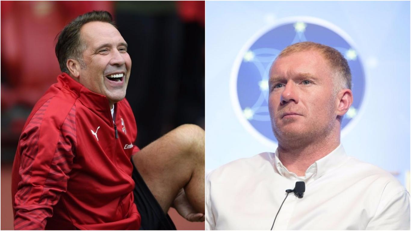 David Seaman mocks Paul Scholes over his criticism of Manchester United boss Jose Mourinho