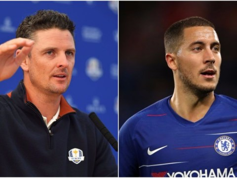 Eden Hazard urged to stay at Chelsea by Ryder Cup star Justin Rose