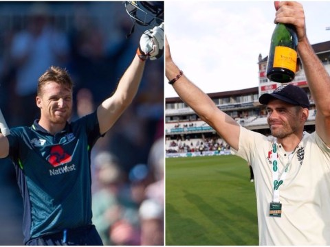 James Anderson and Jos Buttler react to winning Test and ODI England awards