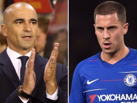 Roberto Martinez speaks out on Real Madrid's pursuit of Eden Hazard