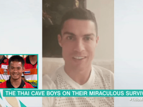Cristiano Ronaldo sends heartfelt message to rescued Thai cave boys: 'Follow your dreams'