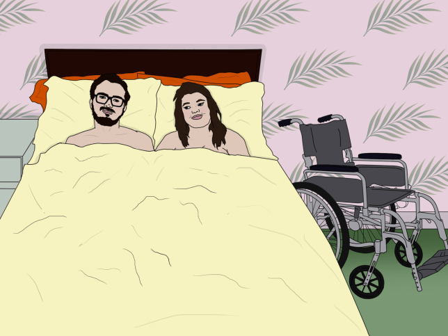 *** ILLUSTRATION REQUEST*** HOLLIE ANNE BROOKS: how I have sex in my wheelchair