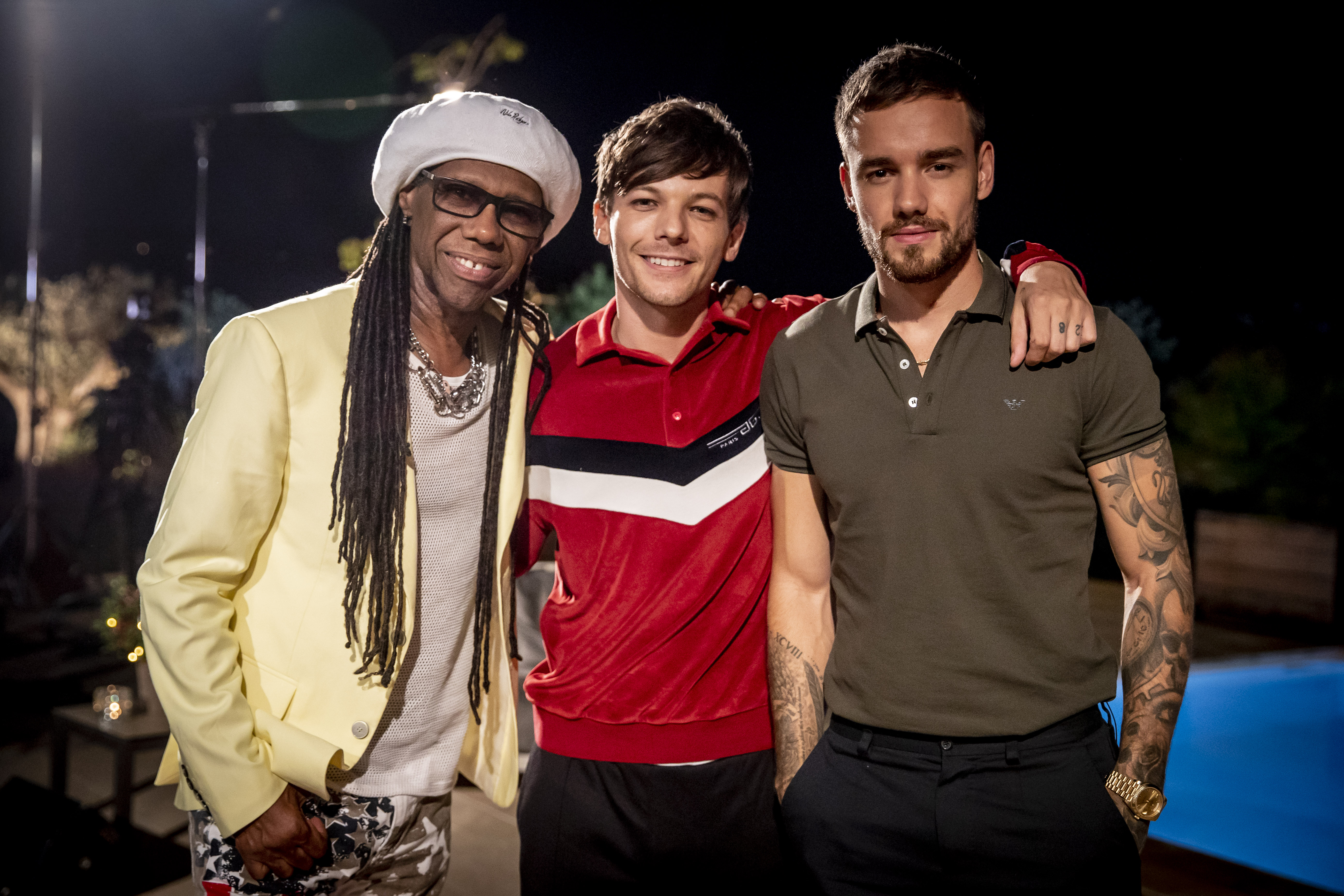 X Factor's Louis Tomlinson joined by Liam Payne in One Direction reunion at judges' houses