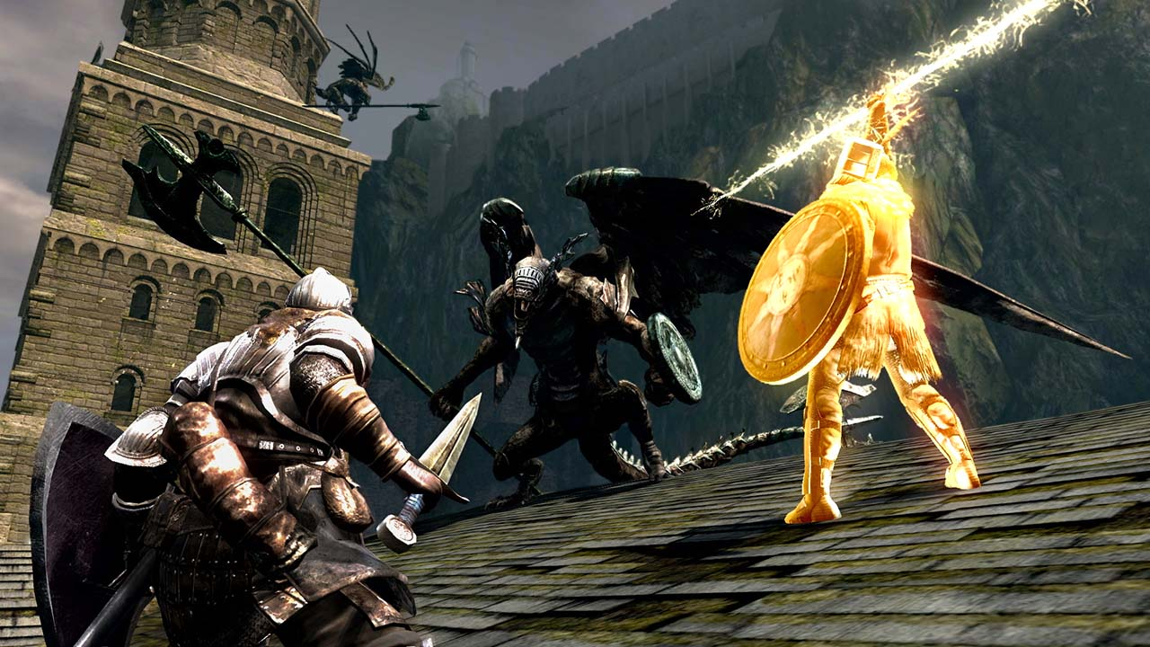 Dark Souls Remastered (NS) - praise the sun, while out in the sun