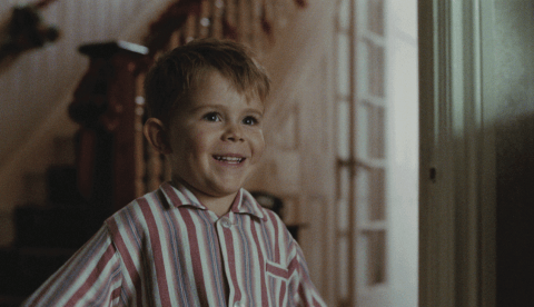 John Lewis Christmas advert: The young Elton John is the twin of a little Reginald Dwight