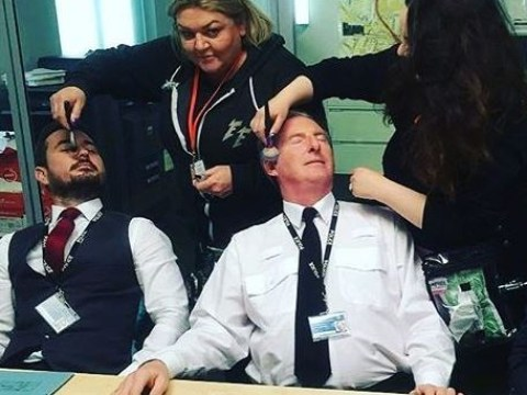 Line of Duty series 5 is underway as AC-12 get a makeover in the briefing room