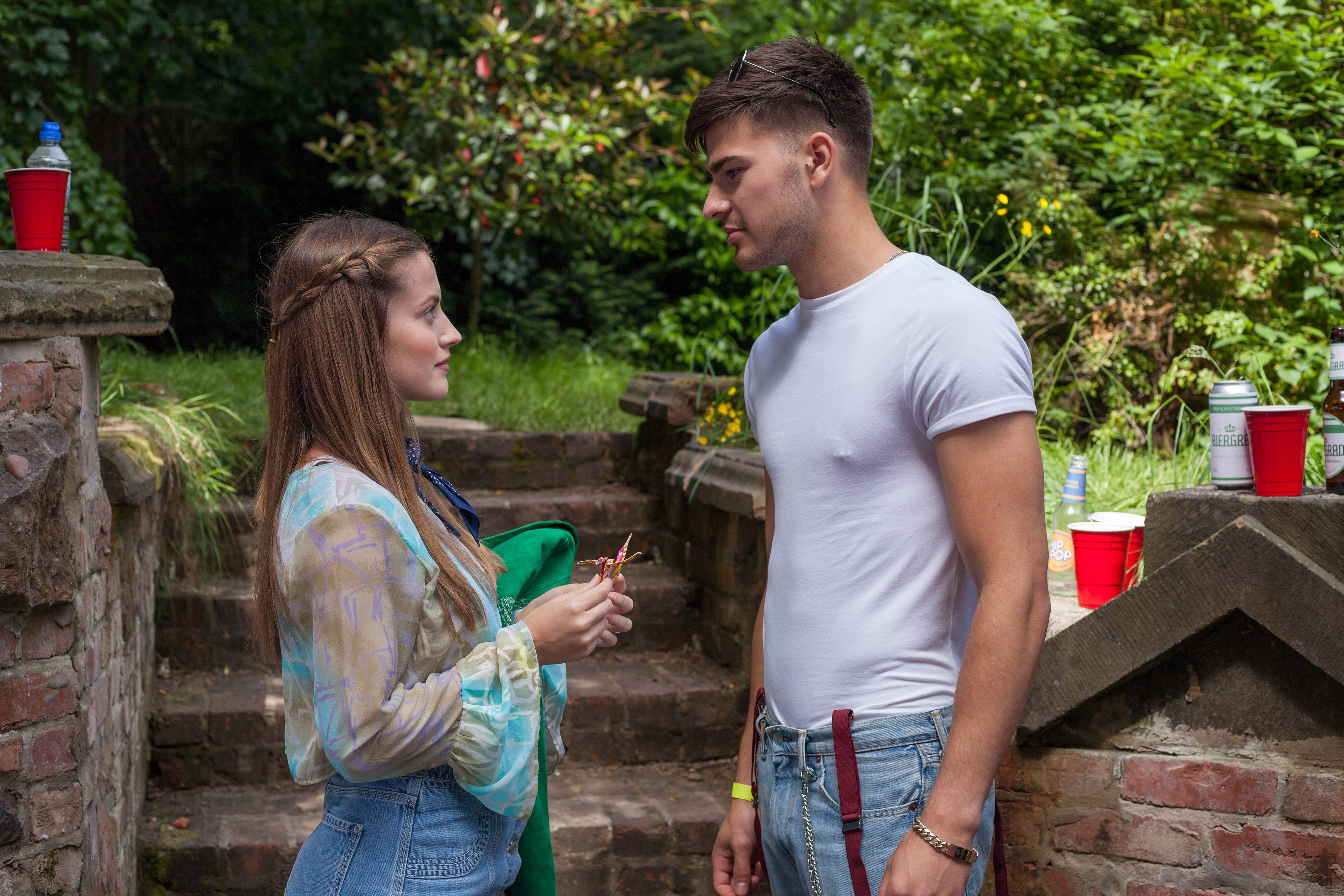 Hollyoaks spoilers: Lily McQueen to run away with Romeo Quinn after dumping Prince?