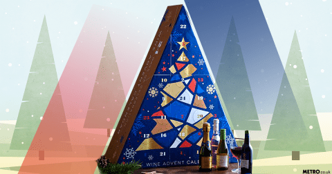 Aldi's wine filled advent calendar is back in stores