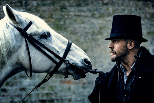 Television Programme: Taboo with Tom Hardy as James Delaney. WARNING: Embargoed for publication until 00:00:01 on 24/01/2017 - Programme Name: Taboo - TX: 28/01/2017 - Episode: Taboo - Ep 4 (No. n/a) - Picture Shows: James Delaney. James Delaney (TOM HARDY) - (C) Scott Free Prods - Photographer: Robert Viglasky