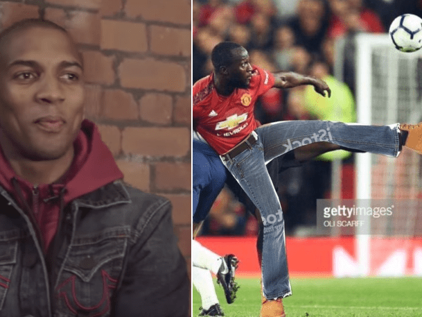 Ashley Young was asked if Romelu Lukaku could play in jeans and his response was telling